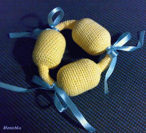 вязание игрушки змеи